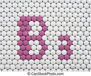 Vitamin B 3 made of pills - Vitamin B 3 made of tablets on ...