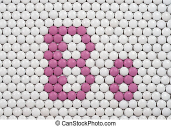 Vitamin B 8 made of pills - Vitamin B 8 made of tablets on ...
