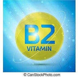 vitamin b2, ikone