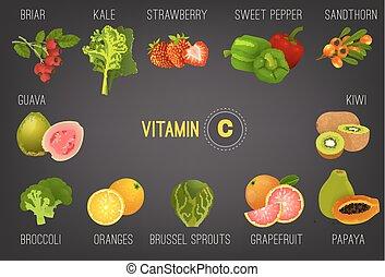 Vitamin C in Food-01