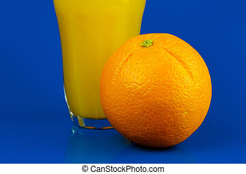 Vitamin C - Conceptual health and diet image isolated...