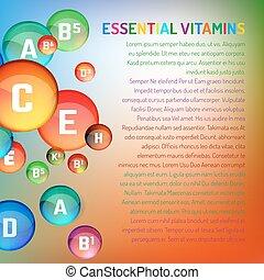 Vitamin complex image