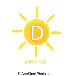 Vitamin d illustrations and clip art 1780 vitamin d royalty free vitamin d icon with sun vector illustration eps10 sciox Image collections