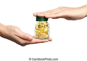 Vitamin fish oil