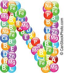 Vitamin Letter N