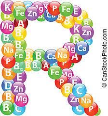 Vitamin Letter R