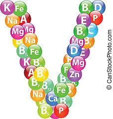 Vitamin Letter V