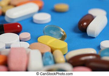 vitamin pill - healtcare and medicine