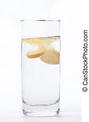 Vitamin tablet dissolving in water - Vitamin tablet ...