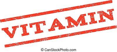 Vitamin Watermark Stamp