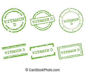 vitamina d, francobolli