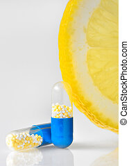 vitamine c, pillen