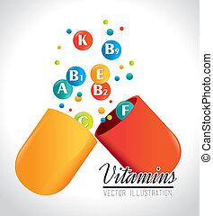vitamine, ontwerp