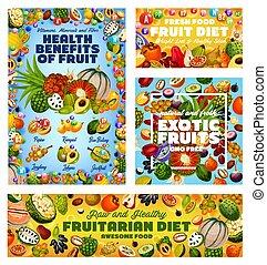 Vitamins in tangerine fruit, jackfruit, cherimoya - Exotic ...
