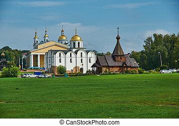 Vitebsk, Annunciation Church - Vitebsk city in Belarus, ...