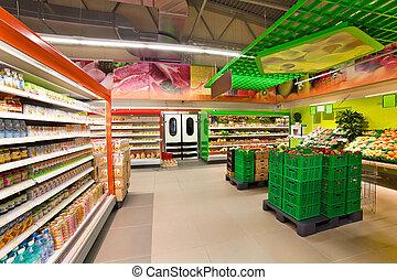 "VITEBSK, BELARUS - JULY 19: Shopping center ""Hanna"" on july ..."