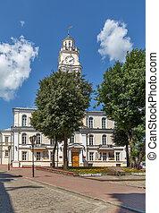 Vitebsk town hall, Belarus - Former Vitebsk town hall with ...