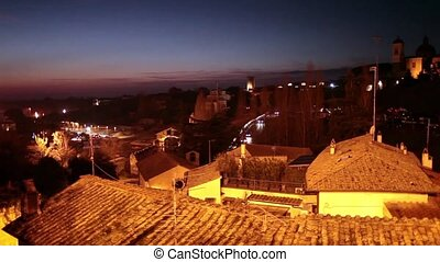 Viterbo By Night