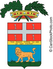 Viterbo prov coa - Various vector flags, state symbols, ...