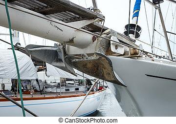 vitesse, ancre, bateau