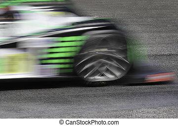 vitesse, barbouillage
