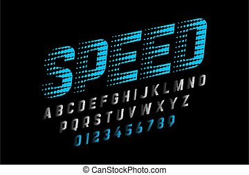 vitesse, police, style