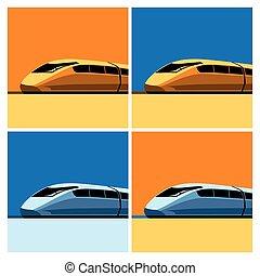 vitesse, train