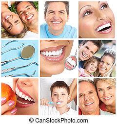 vitfärgning, tänder