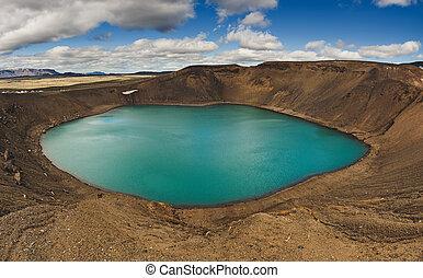 viti, cratere, vulcano