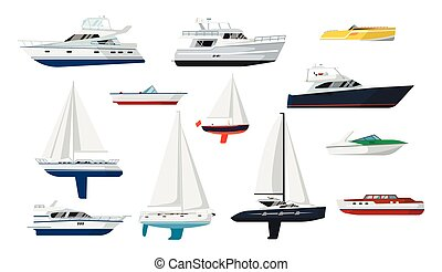 vitorlás hajó, csónakázik, állhatatos, motor