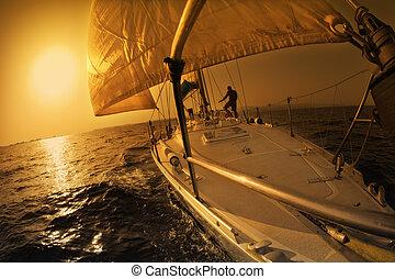 vitorlázik hajózik