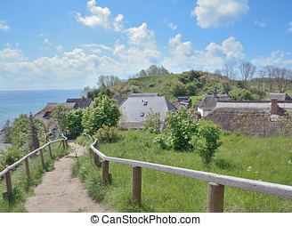 Vitt,Kap Arkona,Ruegen Island - Village of Vitt at Kap...