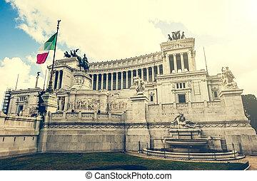 Vittoriano in Roma
