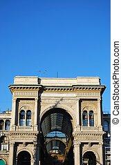 Vittorio Emanuele II Gallery, Milan