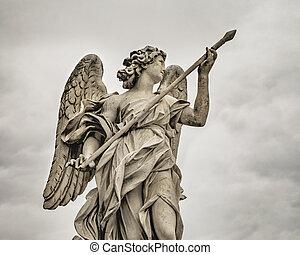 Vittorio Emanuelle II Bridge Sculpture, Rome, Italy