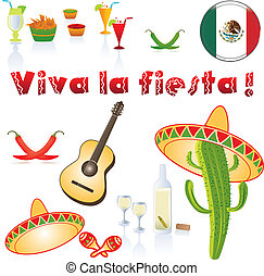 Viva la fiesta - Background Mexico