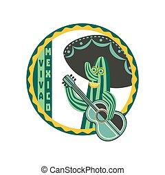 Viva Mexico badge