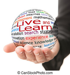 vivant, apprendre