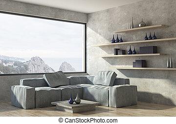 vivant, contemporain, salle