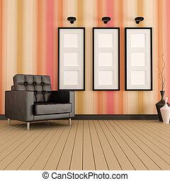 vivant, salle moderne