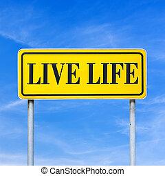 vivant, vie