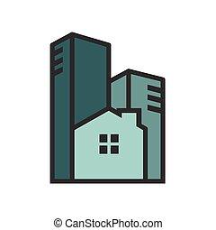 vivendo, urbano, monotone