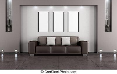 vivente, contemporaneo, stanza