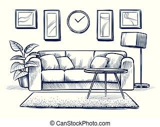 Appartamento disegno for Disegno interno casa