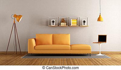 vivente, stanza moderna