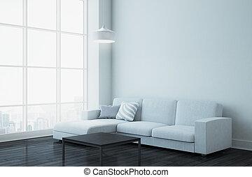 vivente, stanza moderna, copyspace