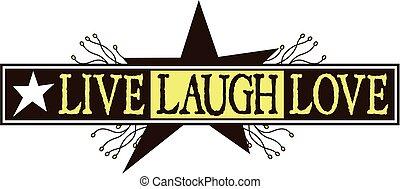vivere, amore, risata