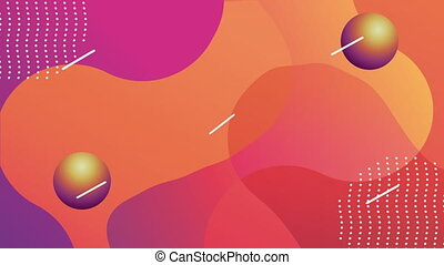 vivid and fluid color background ,4k video animation