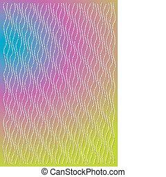 Vivid color wallpaper illustration.