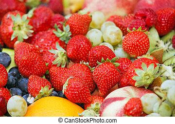 vivid fruits